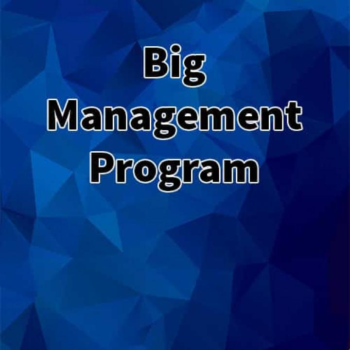 Big Management Program