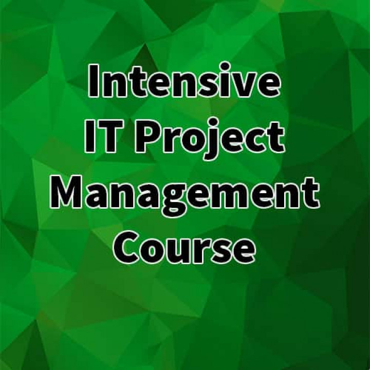 Intensive IT Project Management Course