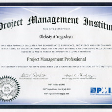 2015-07-10 Project Management Professional Renew (PMI)